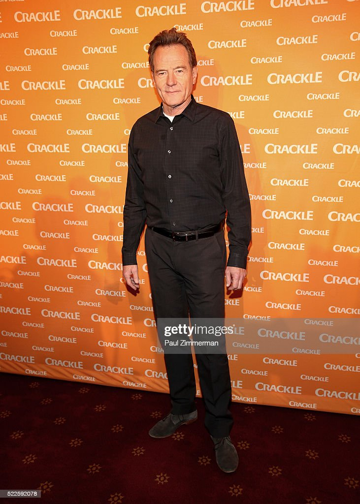 Actor/Executive Producer Bryan Cranston attends the Crackle's 2016 Upfront Presentation at New York City Center on April 20 2016 in New York City