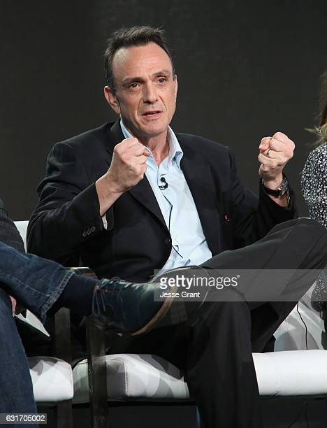Actor/executive producer Hank Azaria speaks onstage during the IFC presentation of Brockmire and Portlandia on January 14 2017 in Pasadena California