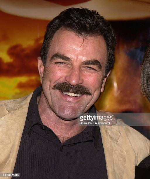 Actor/executive producer Tom Selleck during TNT's 'Monte Walsh' Premiere Los Angeles at Warner Bros Studios in Burbank California United States