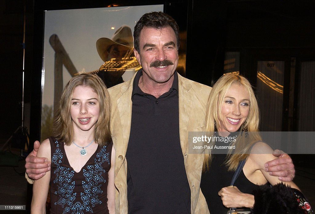 Tnt 39 s monte walsh premiere los angeles getty images for Hannah margaret mack selleck photo