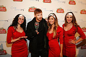 Actor/fashion model Kellan Lutz poses during Stella Artois and Waterorg's 'Buy a Lady a Drink' launch event at Village at the Lift on January 22 2015...