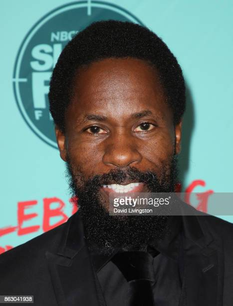 Actor/festival founder Wil Sylvince attends the 12th Annual NBCUniversal Short Film Festival finale screening at the Directors Guild of America on...
