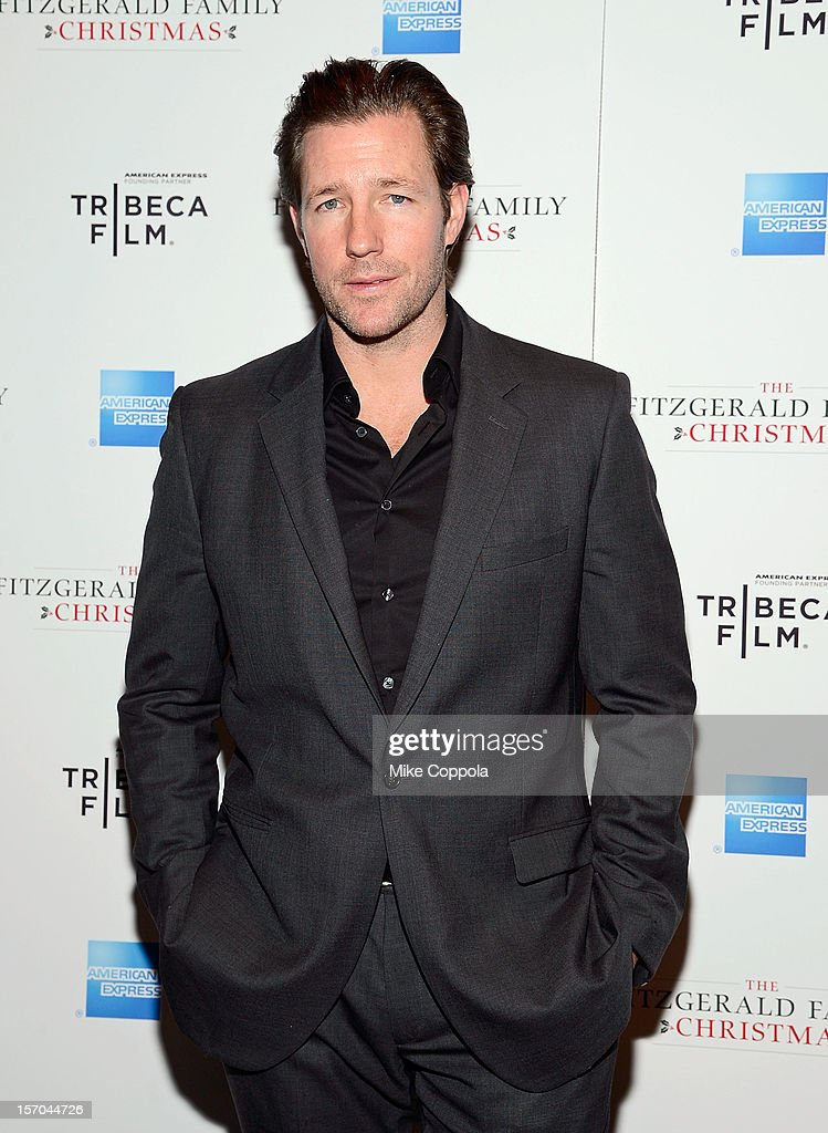 Actor/film producer Edward Burns attends Tribeca Film's Special New York Screening Of 'The Fitzgerald Family Christmas' at Tribeca Grand Hotel on November 27, 2012 in New York City.