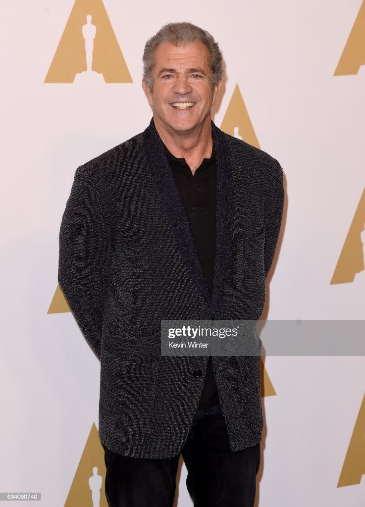 Actor/filmmaker Mel Gibson attends the 89th Annual Academy Awards Nominee Luncheon at The Beverly Hilton Hotel on February 6, 2017 in Beverly Hills, California.
