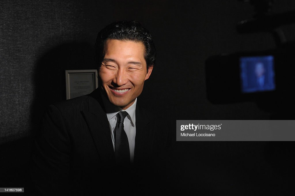 Actor/honoree <a gi-track='captionPersonalityLinkClicked' href=/galleries/search?phrase=Daniel+Dae+Kim&family=editorial&specificpeople=581168 ng-click='$event.stopPropagation()'>Daniel Dae Kim</a> is interviewed during 'Legacy And Homecoming' the Pan Asian Repertory's 35th Anniversary Gala at The Edison Ballroom on March 19, 2012 in New York City.