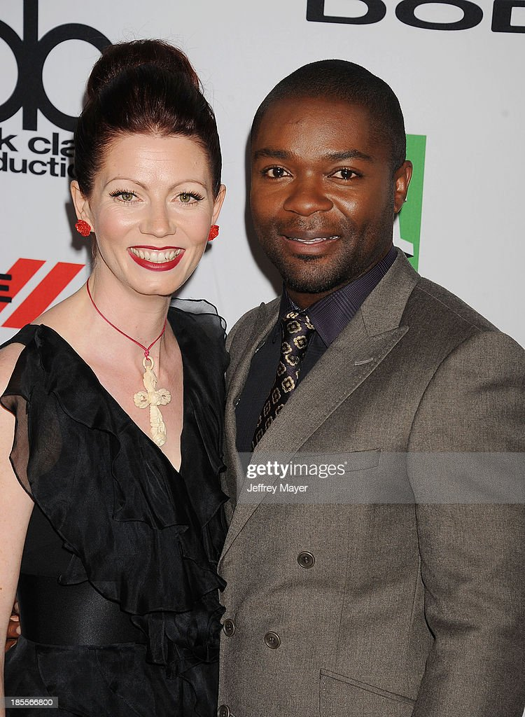 Actor/honoree <a gi-track='captionPersonalityLinkClicked' href=/galleries/search?phrase=David+Oyelowo&family=editorial&specificpeople=633075 ng-click='$event.stopPropagation()'>David Oyelowo</a> (R) and wife Jessica Oyelowo arrive at the 17th Annual Hollywood Film Awards at The Beverly Hilton Hotel on October 21, 2013 in Beverly Hills, California.