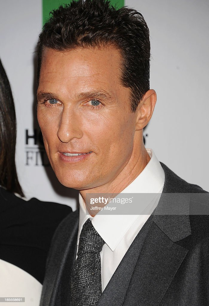 Actor/honoree Matthew McConaughey arrives at the 17th Annual Hollywood Film Awards at The Beverly Hilton Hotel on October 21, 2013 in Beverly Hills, California.