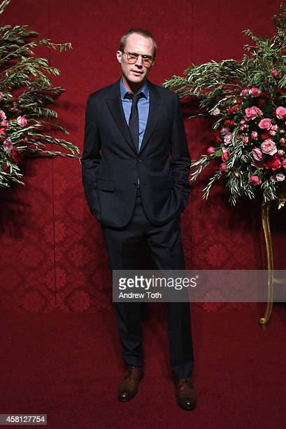 Actor/honoree Paul Bettany attends the 20th Annual Artwalk NY at Metropolitan Pavilion on October 30 2014 in New York City