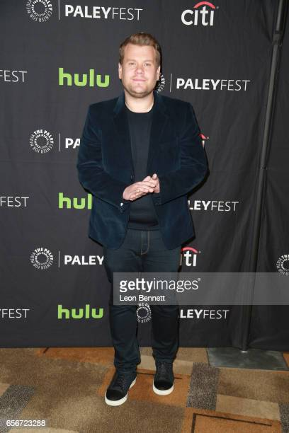 Actor/Host James Corden arrives at The Paley Center For Media's 34th Annual PaleyFest Los Angeles An Evening of Laughs with James Corden and The Late...