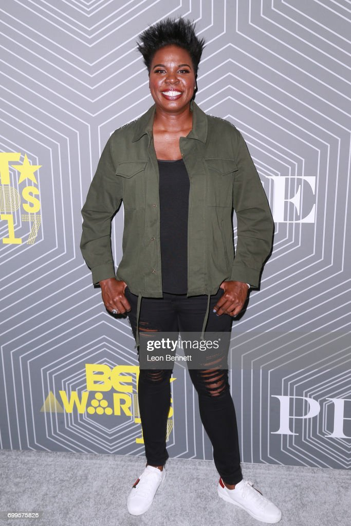 Actor/Host of BET Awards 2017 Lesile Jones arrived at the 2017 BET Awards 'PRE' at The London West Hollywood on June 21, 2017 in West Hollywood, California.