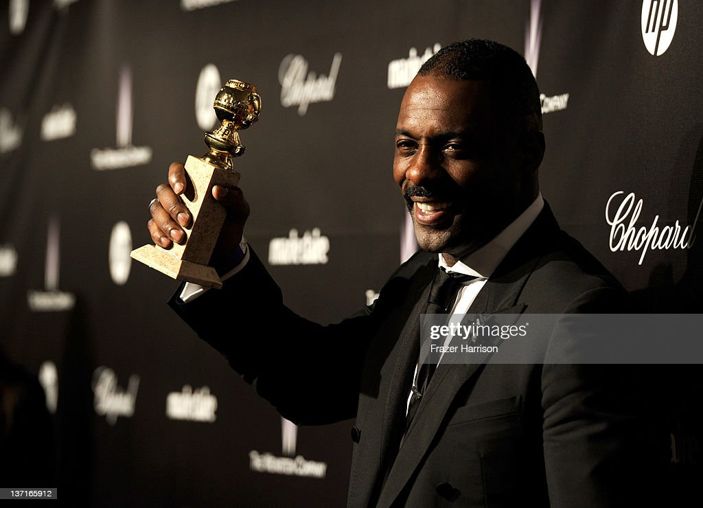 Actor<a gi-track='captionPersonalityLinkClicked' href=/galleries/search?phrase=Idris+Elba&family=editorial&specificpeople=215443 ng-click='$event.stopPropagation()'>Idris Elba</a> arrives at The Weinstein Company's 2012 Golden Globe Awards After Party held at The Beverly Hilton hotel on January 15, 2012 in Beverly Hills, California.