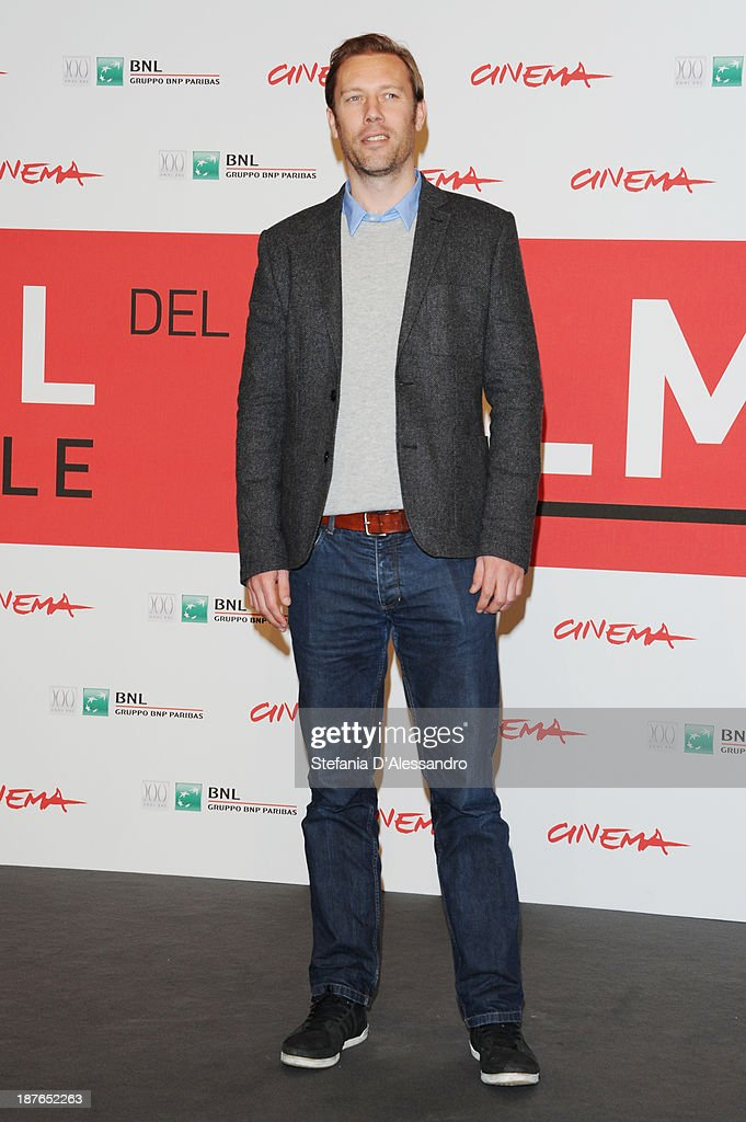Actor<a gi-track='captionPersonalityLinkClicked' href=/galleries/search?phrase=Jakob+Cedergren&family=editorial&specificpeople=2394592 ng-click='$event.stopPropagation()'>Jakob Cedergren</a> attend the 'Sorrow And Joy' Photocall during the 8th Rome Film Festival at the Auditorium Parco Della Musica on November 11, 2013 in Rome, Italy.