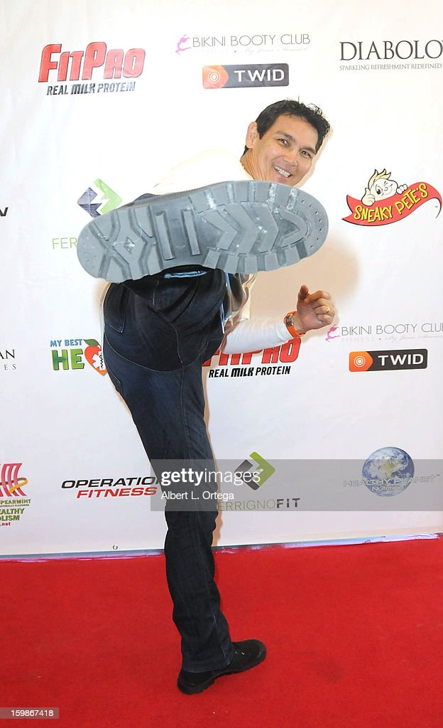 Actor/martial artist Don 'The Dragon' Wilson participates in the Red Carpet Health Expo held at The Vitamin Shoppe on January 12, 2013 in Los Angeles, California.