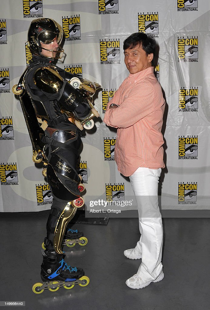 Actor martial artist J...