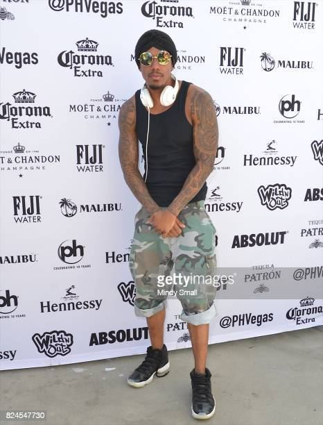 Actor/media personality Nick Cannon arrives at the World Wildest Pool Party series at Planet Hollywood Resort Casino on July 30 2017 in Las Vegas...