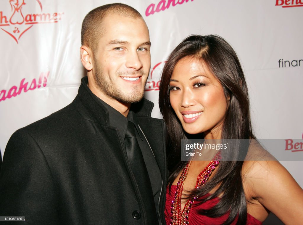jessica kress. actor/model justin carl and lena arrives at the 3rd annual \u0027bench warmer trading jessica kress s