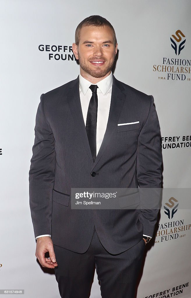 Actor/model Kellan Lutz attends the 80th Annual YMA Fashion Scholarship Fund Geoffrey Beene National Scholarship Awards at Grand Hyatt New York on January 12, 2017 in New York City.