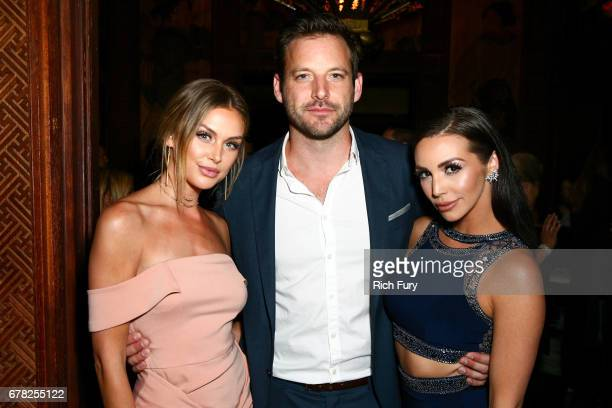 Actor/model Lala Kent Robert ParksValletta and actor/model Scheana Marie attend the 'This Is LA' Premiere Party at Yamashiro Hollywood on May 3 2017...