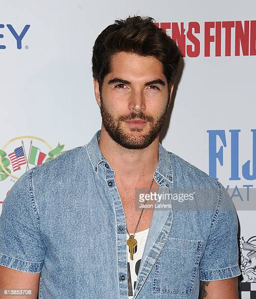 Actor/model Nick Bateman attends Men's Fitness Game Changers celebration at Sunset Tower Hotel on October 10 2016 in West Hollywood California