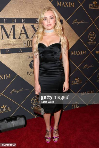 Actor/model Peyton List attends the 2017 MAXIM Hot 100 Party at Hollywood Palladium on June 24 2017 in Los Angeles California