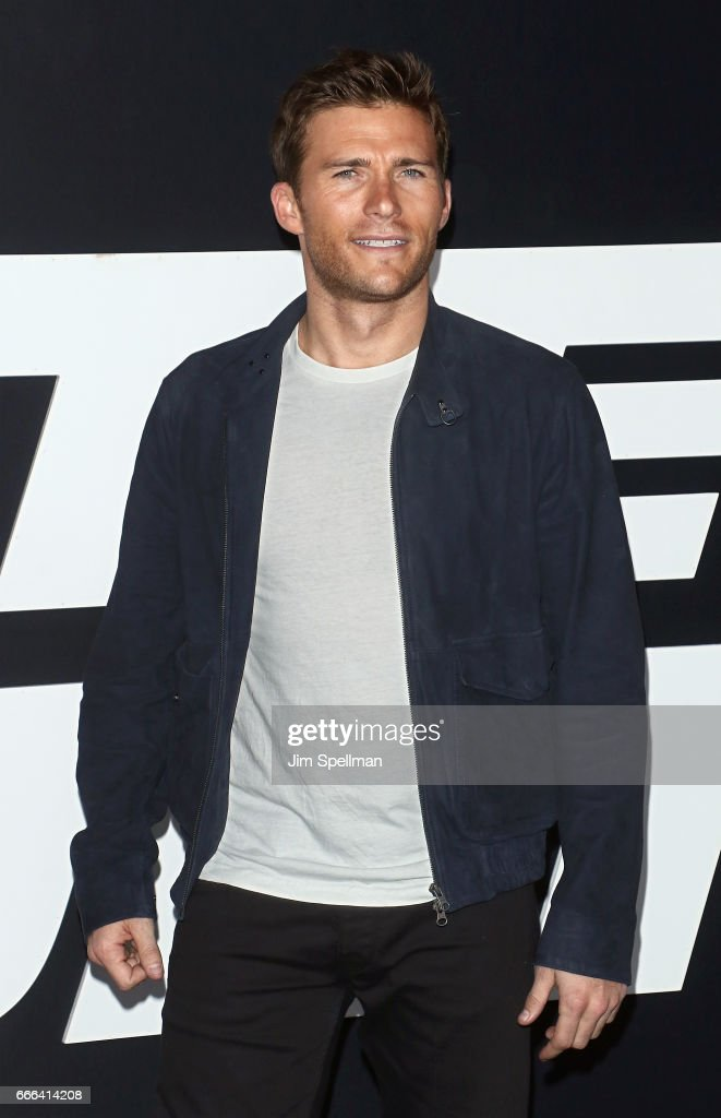 Actor/model Scott Eastwood attends 'The Fate Of The Furious' New York premiere at Radio City Music Hall on April 8, 2017 in New York City.