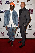 Actor/musician André 3000 Benjamin and director John Ridley arrive at the Screening Of 'Jimi All Is By My Side' at ArcLight Cinemas on September 22...