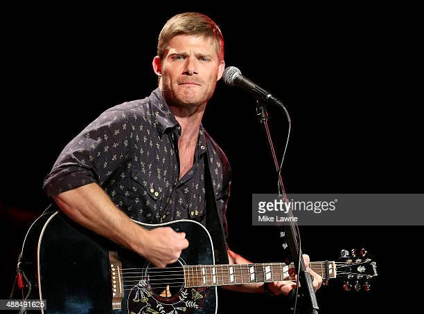 Actor/musician Chris Carmack of the cast of 'Nashville' performs at Best Buy Theater on May 6 2014 in New York City