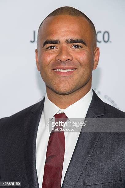 Actor/Musician Christopher Jackson attends the 2015 New York Stage and Film Gala at The Plaza Hotel on November 15 2015 in New York City