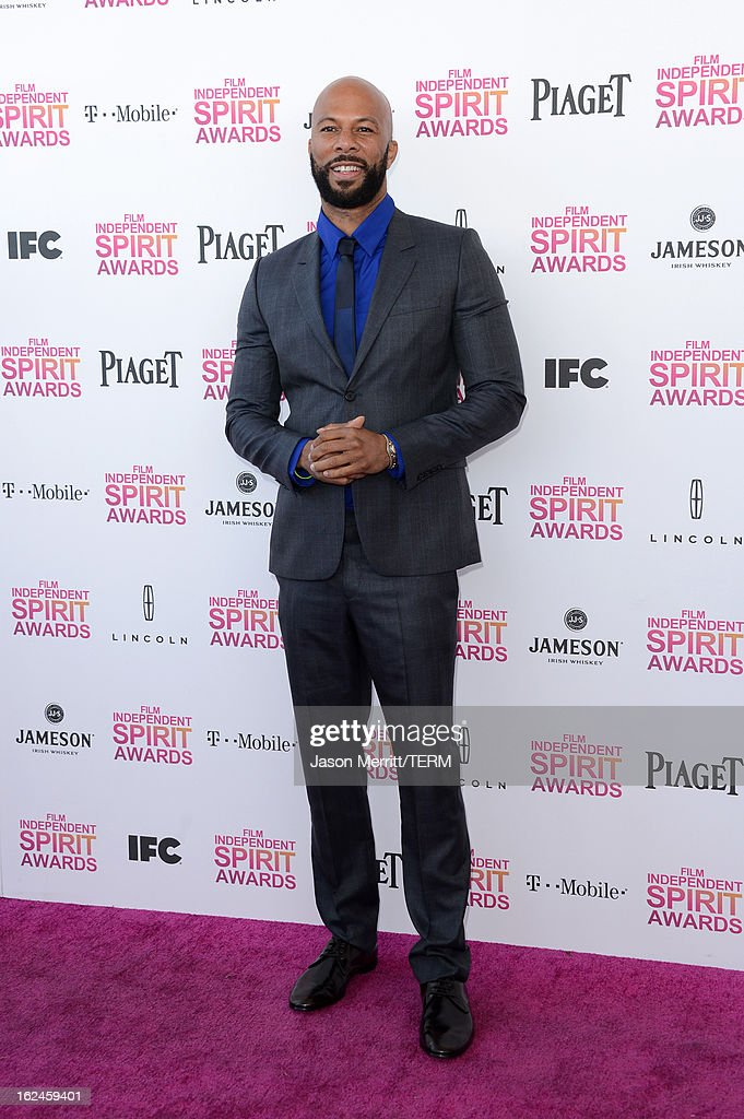 Actor/musician Common attends the 2013 Film Independent Spirit Awards at Santa Monica Beach on February 23, 2013 in Santa Monica, California.