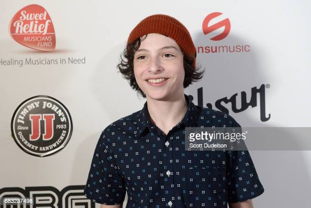 Actor/musician Finn Wolfhard attends the 'Strange 80's' benefit concert at The Fonda Theatre on May 14 2017 in Los Angeles California