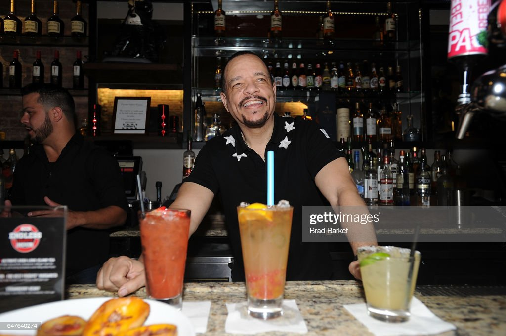 Actor/Musician Ice-T attends the TGI Fridays Endless Happy Hour With Ice-T TGI Fridays on March 3, 2017 in New York City.