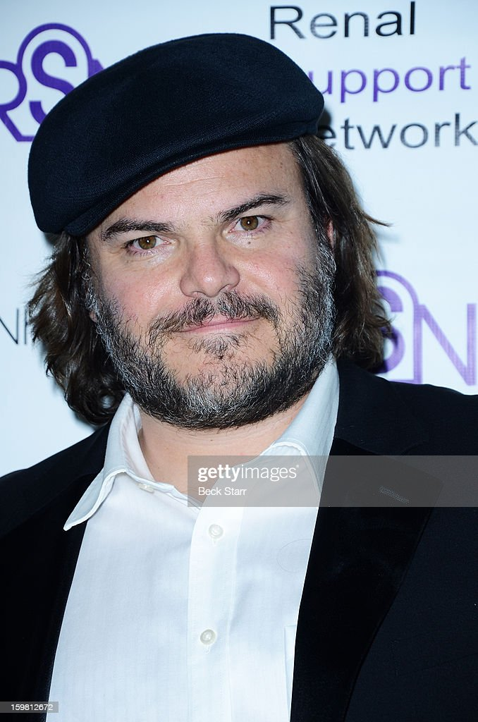 Actor/musician Jack Black arrives at 14th Annual RSN's Renal Teen Prom at Notre Dame High School on January 20, 2013 in Sherman Oaks, California.
