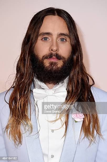 Actor/musician Jared Leto attends the 87th Annual Academy Awards at Hollywood Highland Center on February 22 2015 in Hollywood California