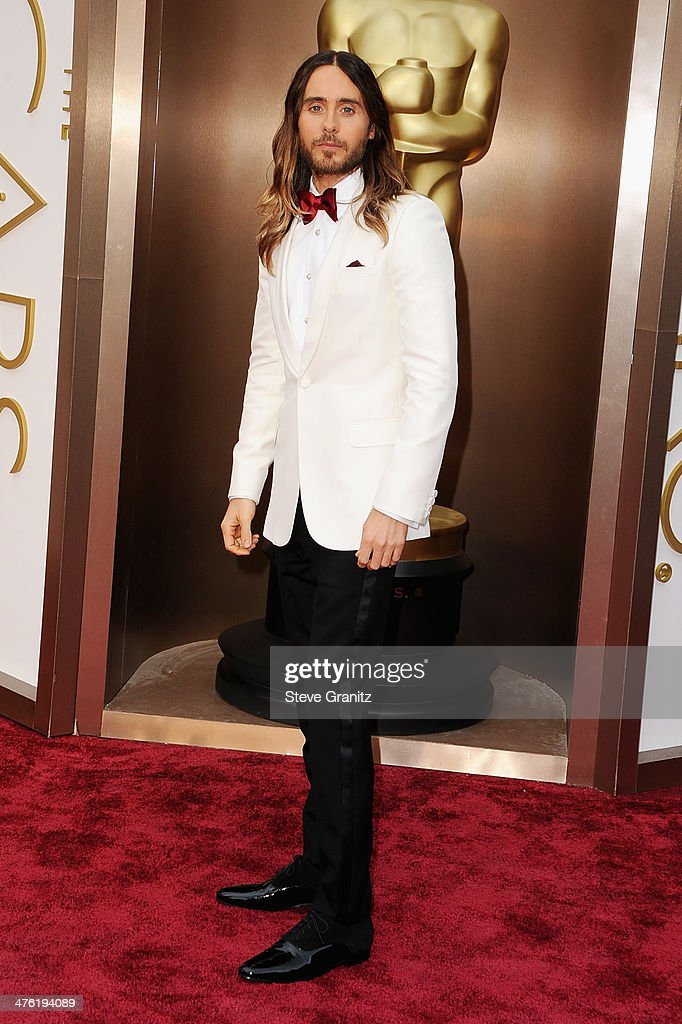 Actor/musician Jared Leto attends the Oscars held at Hollywood & Highland Center on March 2, 2014 in Hollywood, California.