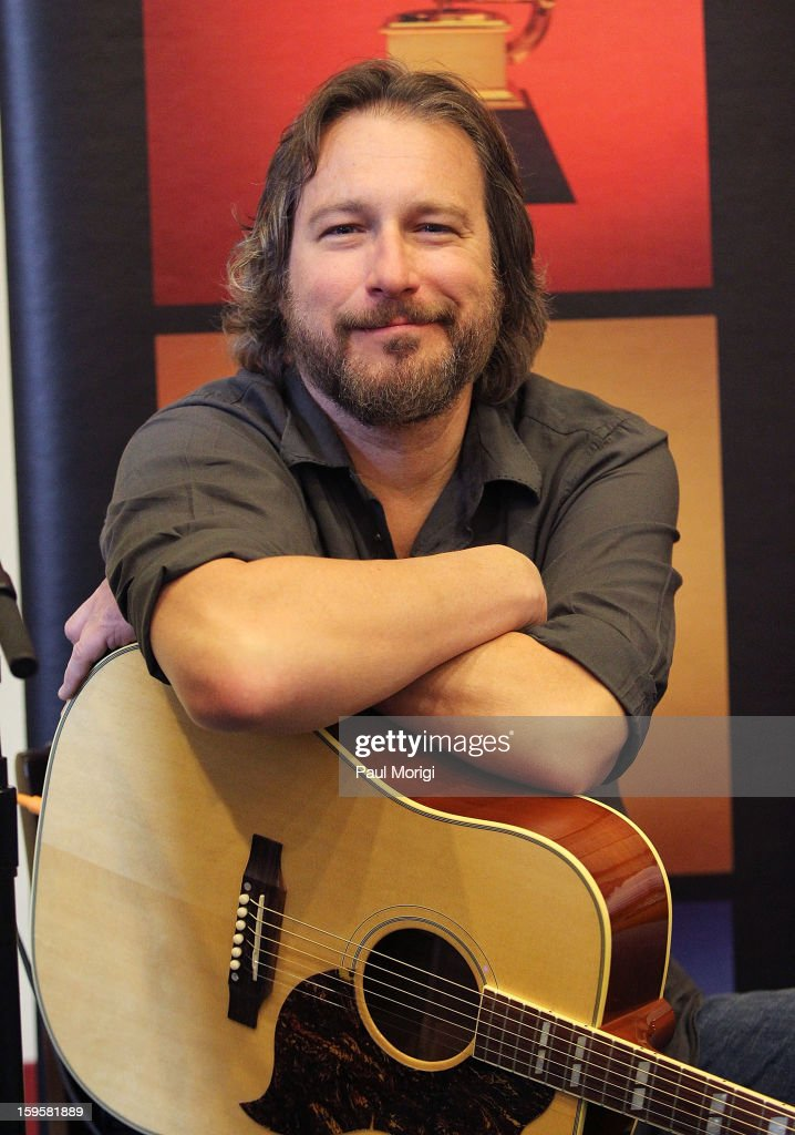 Actor/musician <a gi-track='captionPersonalityLinkClicked' href=/galleries/search?phrase=John+Corbett&family=editorial&specificpeople=221714 ng-click='$event.stopPropagation()'>John Corbett</a> performs at a musical briefing and Welcome Back to Congress Event presented by The Recording Academy's 'Grammys on the Hill' at U.S. House of Representatives on January 16, 2013 in Washington, DC.