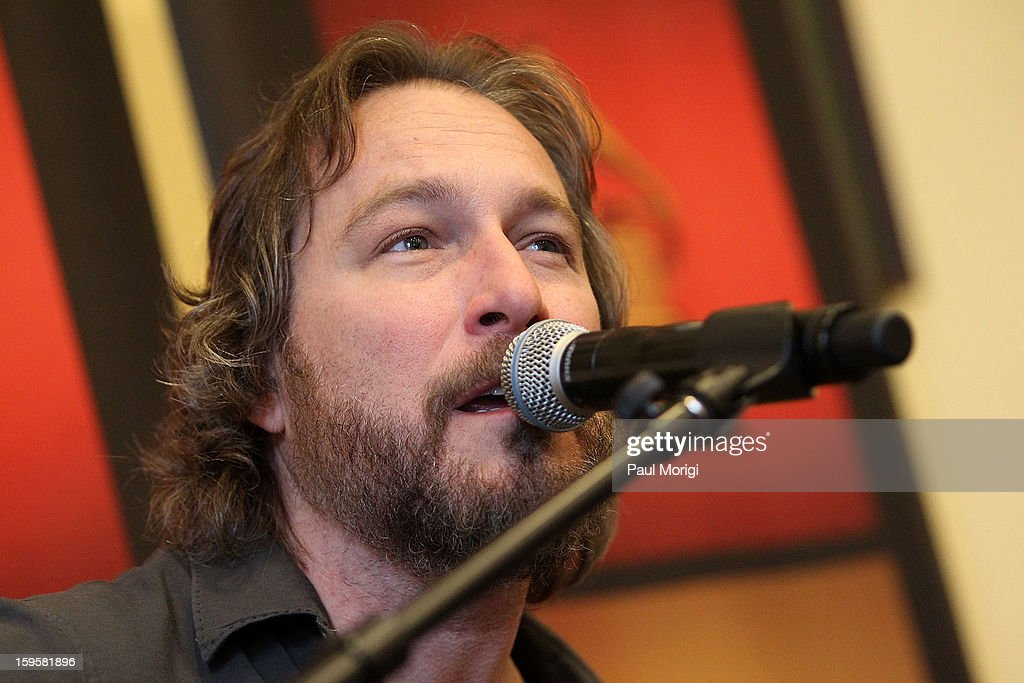 Actor/musician John Corbett performs at a musical briefing and Welcome Back to Congress Event presented by The Recording Academy's 'Grammys on the Hill' at U.S. House of Representatives on January 16, 2013 in Washington, DC.