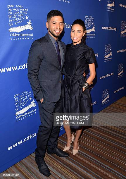 Actor/musician Jussie Smollett and cochair Jurnee SmollettBell attends Children's Defense FundCalifornia 25th Annual Beat The Odds Awards at Regent...