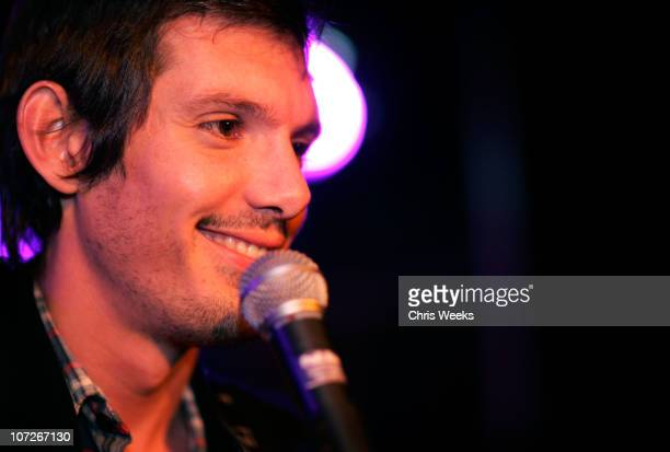 Actor/musician Lukas Haas performs at Teddys at Village at the Lift on January 21 2008 in Park City Utah *EXCLUSIVE*