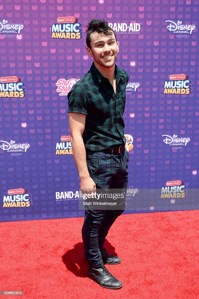Actor/musician <a gi-track='captionPersonalityLinkClicked' href=/galleries/search?phrase=Max+Schneider&family=editorial&specificpeople=7219410 ng-click='$event.stopPropagation()'>Max Schneider</a> attends the 2016 Radio Disney Music Awards at Microsoft Theater on April 30, 2016 in Los Angeles, California.