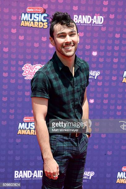 Actor/musician Max Schneider attends the 2016 Radio Disney Music Awards at Microsoft Theater on April 30 2016 in Los Angeles California