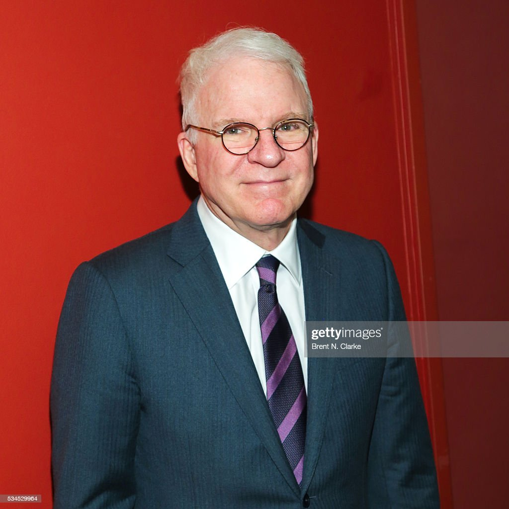 Actor/musician <a gi-track='captionPersonalityLinkClicked' href=/galleries/search?phrase=Steve+Martin+-+Comedian&family=editorial&specificpeople=196544 ng-click='$event.stopPropagation()'>Steve Martin</a> attends the 66th Annual Outer Critics Circle Theatre Awards held at Sardi's on May 26, 2016 in New York City.