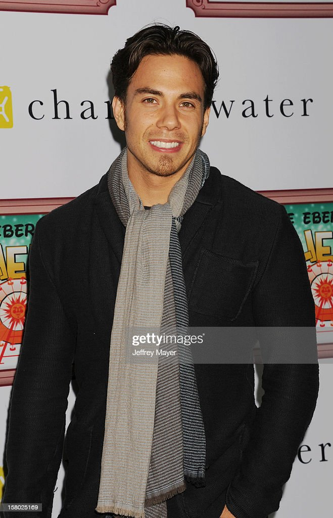 Actor/Olympic Gold Medalist Apolo Ohno attends Charlie Ebersol's 'Charlieland' Birthday Party And Charity: Water Fundraiser on December 8, 2012 in Los Angeles, California.