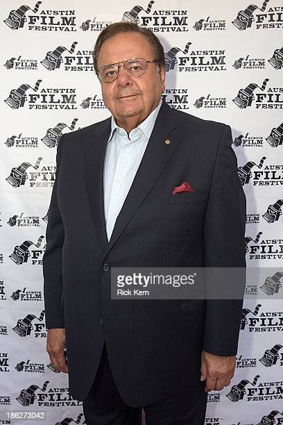 ActorPaul Sorvino arrives at the premiere of 'Last I Heard' during the Austin Film Festival at The Paramount Theatre on October 29 2013 in Austin...