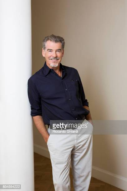 ActorPierce Brosnan is photographed for Self Assignment on June 10 2017 in Bologna Italy