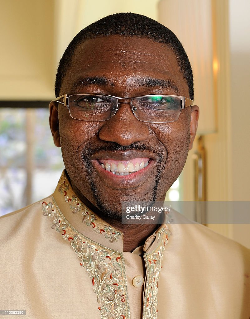 Actor-playwright <a gi-track='captionPersonalityLinkClicked' href=/galleries/search?phrase=Kwame+Kwei-Armah&family=editorial&specificpeople=2194059 ng-click='$event.stopPropagation()'>Kwame Kwei-Armah</a> poses at the UK Film Council's 'Breakthrough Brits' honorees reception at the London hotel on June 5, 2008 in West Hollywood, California.