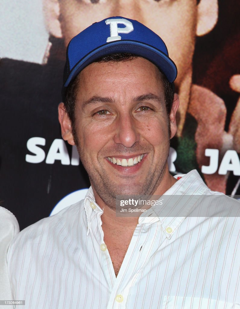 Actor/producer <a gi-track='captionPersonalityLinkClicked' href=/galleries/search?phrase=Adam+Sandler&family=editorial&specificpeople=202205 ng-click='$event.stopPropagation()'>Adam Sandler</a> attends the 'Grown Ups 2' New York Premiere at AMC Lincoln Square Theater on July 10, 2013 in New York City.