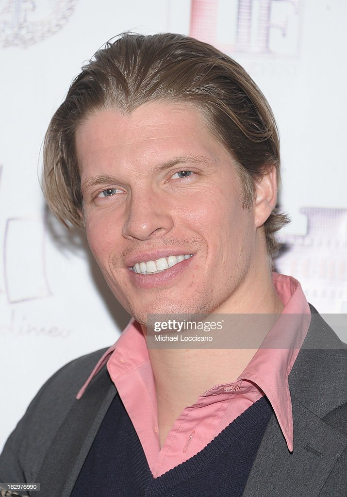 Actor/producer Alexander Cendese attends the opening night party for the 2013 First Time Fest at The Players Club on March 1, 2013 in New York City.