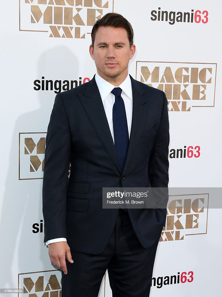 Actor/producer <a gi-track='captionPersonalityLinkClicked' href=/galleries/search?phrase=Channing+Tatum&family=editorial&specificpeople=549548 ng-click='$event.stopPropagation()'>Channing Tatum</a> attends the premiere of Warner Bros. Pictures' 'Magic Mike XXL' at TCL Chinese Theatre IMAX on June 25, 2015 in Hollywood, California.