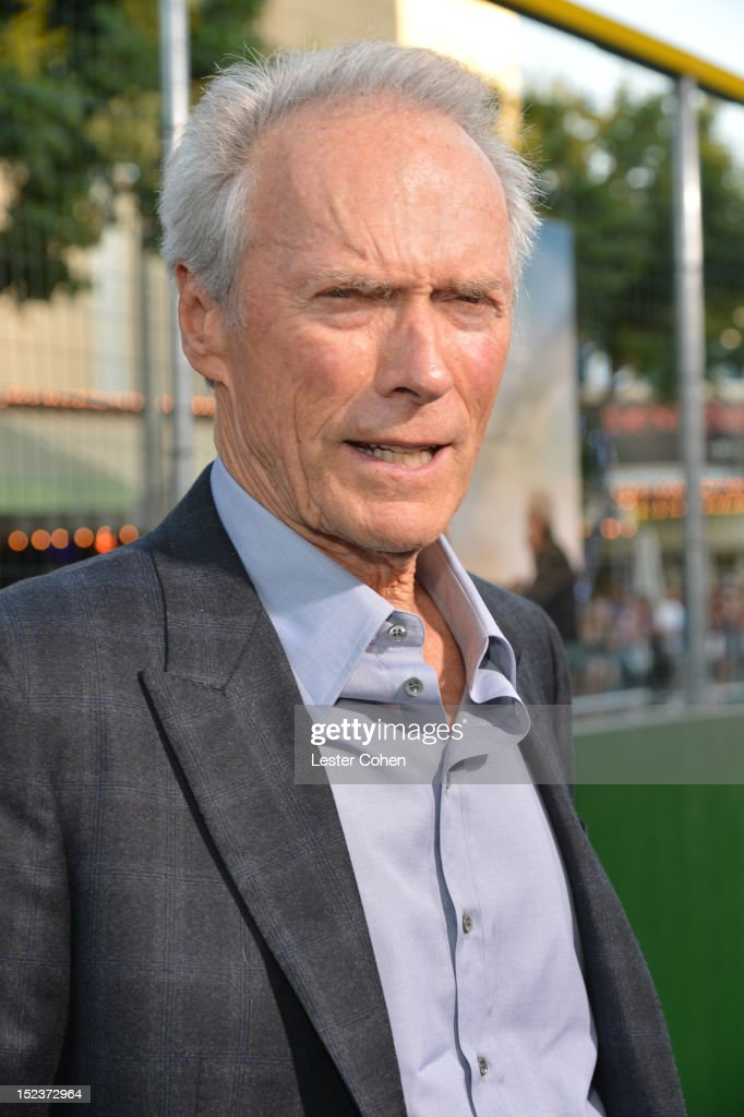 Actor/Producer Clint Eastwood arrives at the 'Trouble With The Curve' Premiere at Mann's Village Theatre on September 19, 2012 in Westwood, California.