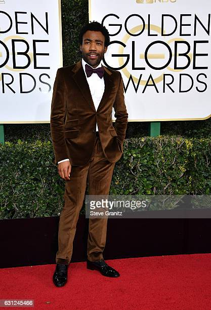 Actor/producer Donald Glover attends the 74th Annual Golden Globe Awards at The Beverly Hilton Hotel on January 8 2017 in Beverly Hills California